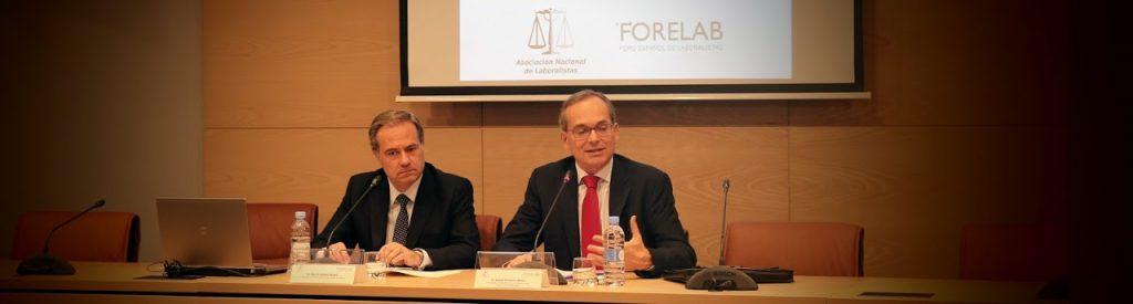 V Jornada Formativa sobre Derecho Laboral organizada  por ASNALA y FORELAB
